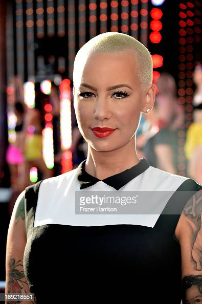 Model Amber Rose arrives at the Premiere Of Universal Pictures' 'Fast Furious 6' on May 21 2013 in Universal City California