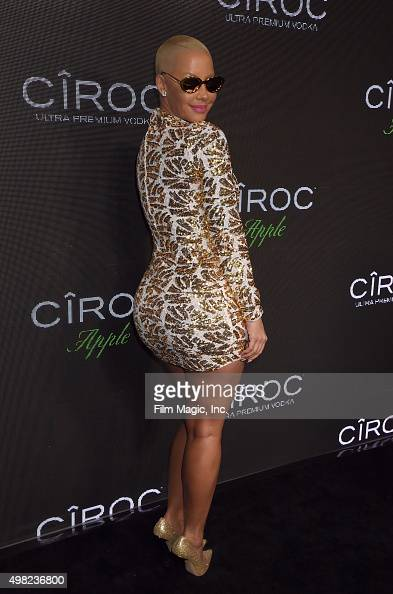 Model Amber Rose attends Sean 'Diddy' Combs Exclusive Birthday Celebration Presented By CIROC Vodka on November 22 2015 in Beverly Hills California