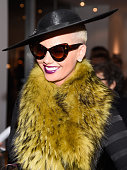 Model Amber Rose attends TASCHEN And David Bailey Celebrate 'It's Just A Shot Away The Rolling Stones In Photographs' at the TASCHEN Gallery on...