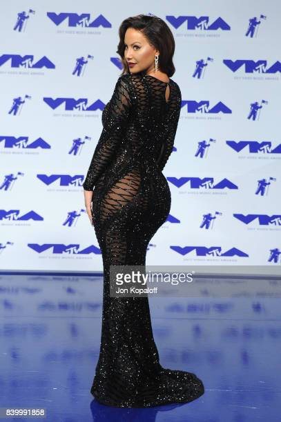 Model Amber Rose attends the 2017 MTV Video Music Awards at The Forum on August 27 2017 in Inglewood California