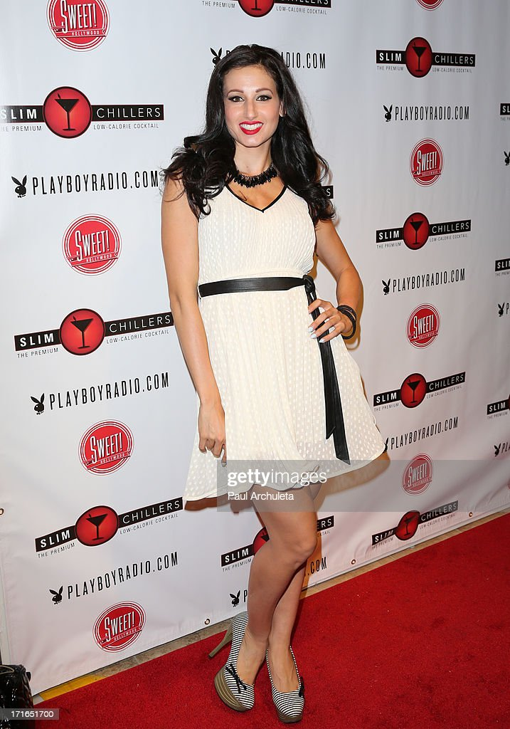 Model Amie Nicole attends the Birthday Party for Playboy Radio and TV Personality Jessica Hall at Sweet Candy store on June 26, 2013 in Hollywood, California.