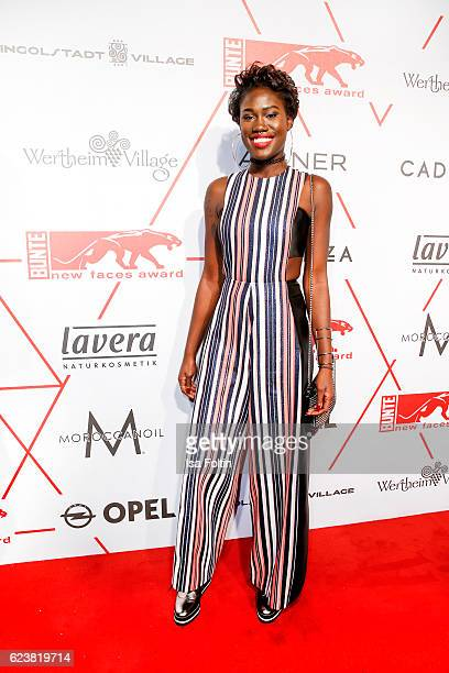 Model Aminata Sanogo attends New Faces Award Style on November 16 2016 in Berlin Germany