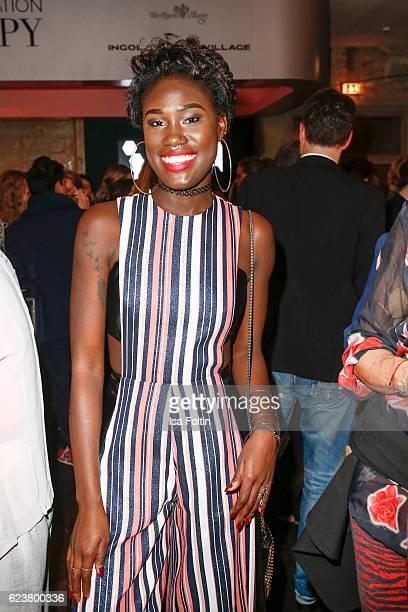 Model Aminata Sanogo attends the New Faces Award Fashion 2016 the New Faces Award Fashion 2016 on November 16 2016 in Berlin Germany