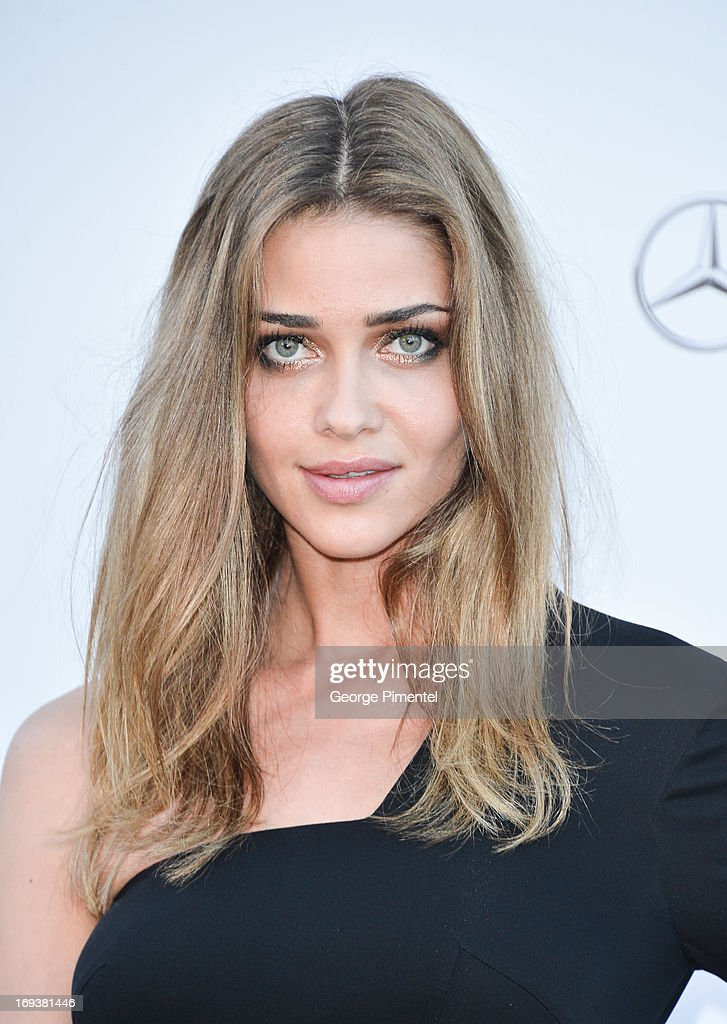 Model Ana Beatriz Barros arrives at amfAR's 20th Annual Cinema Against AIDS at Hotel du Cap-Eden-Roc on May 23, 2013 in Cap d'Antibes, France.