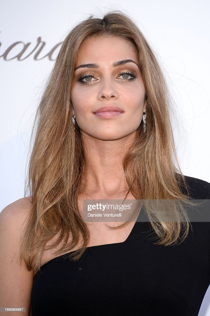 Model Ana Beatriz Barros attends amfAR's 20th Annual Cinema Against AIDS during The 66th Annual Cannes Film Festival at Hotel du Cap-Eden-Roc on May 23, 2013 in Cap d'Antibes, France.