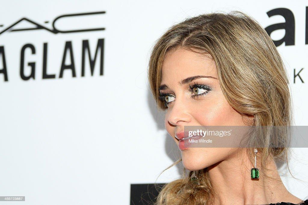 Model Ana Beatriz Barros attends the 2013 amfAR Inspiration Gala Los Angeles at Milk Studios on December 12, 2013 in Los Angeles, California.