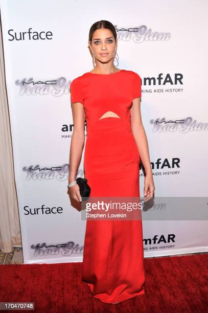 Model Ana Beatriz Barros attends the 4th Annual amfAR Inspiration Gala New York at The Plaza Hotel on June 13 2013 in New York City