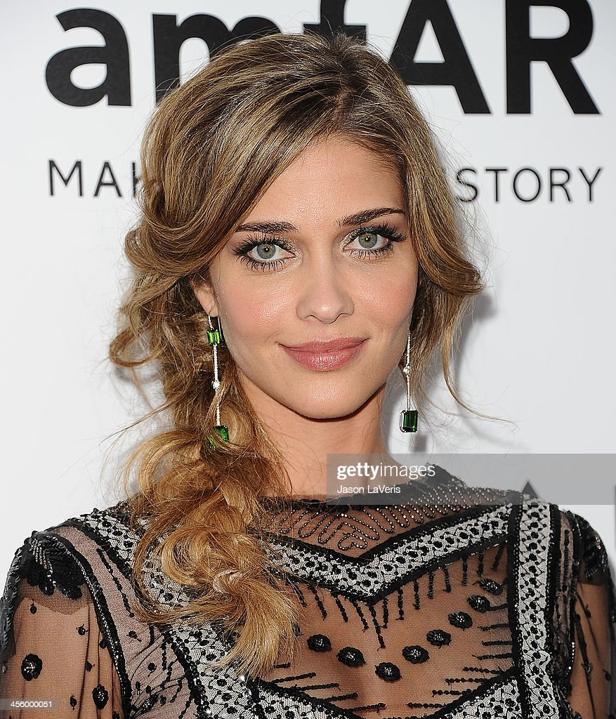 Model <a gi-track='captionPersonalityLinkClicked' href=/galleries/search?phrase=Ana+Beatriz+Barros+-+Model&family=editorial&specificpeople=12860315 ng-click='$event.stopPropagation()'>Ana Beatriz Barros</a> attends the amfAR Inspiration Gala at Milk Studios on December 12, 2013 in Hollywood, California.
