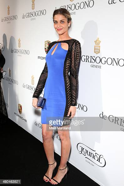 Model Ana Beatriz Barros attends the De Grisogono dinner party in collaboration with Gyunel during Cannes film festival at Hotel du CapEdenRoc on May...