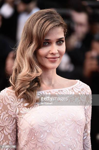 Model Ana Beatriz Barros attends the Premiere of 'Inside Out' during the 68th annual Cannes Film Festival on May 18 2015 in Cannes France