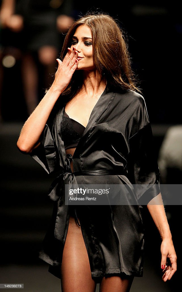 Model Ana Beatriz Barros walks runway during the 2012 amfAR's Cinema Against AIDS during the 65th Annual Cannes Film Festival at Hotel Du Cap on May 24, 2012 in Cap D'Antibes, France.