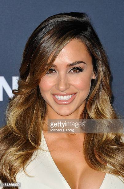 Model Ana Cheri attends the premiere of the new film 'Manny' at TCL Chinese Theatre on January 20 2015 in Hollywood California