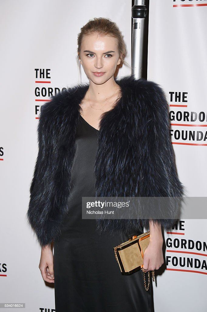 Model Anabela Belikova attends the 2016 Gordon Parks Foundation awards dinner at Cipriani 42nd Street on May 24, 2016 in New York City.