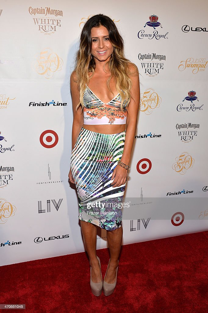 Model <a gi-track='captionPersonalityLinkClicked' href=/galleries/search?phrase=Anastasia+Ashley&family=editorial&specificpeople=699835 ng-click='$event.stopPropagation()'>Anastasia Ashley</a> attends Club SI Swimsuit at LIV Nightclub hosted by Sports Illustrated at Fontainebleau Miami on February 19, 2014 in Miami Beach, Florida.
