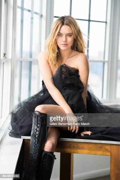 Model and actor Camille Rowe is photographed for Paris Match on January 30 2017 in New York City