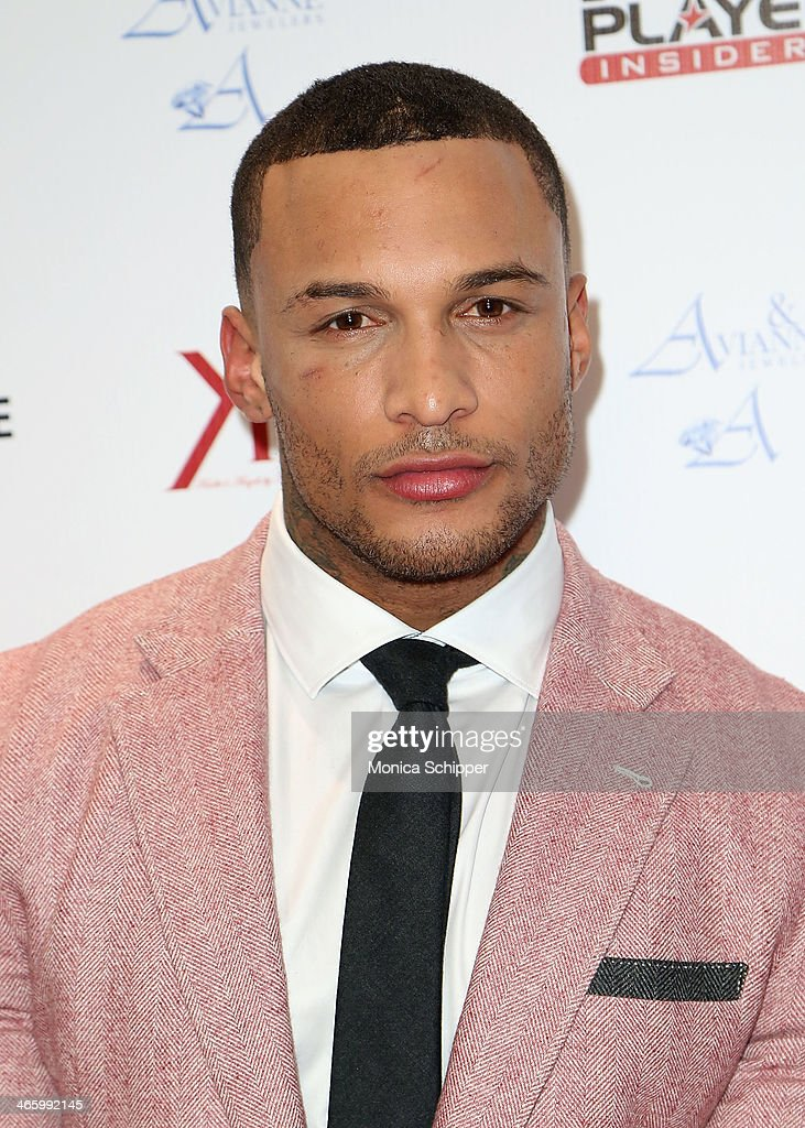 Model and actor David Mcintosh attends the 7th Annual Music Meets Fashion Event on January 30, 2014 in New York City.
