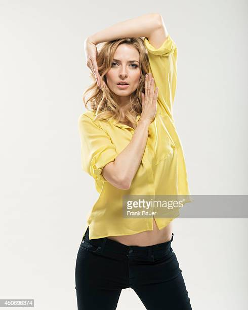 Model and actor Eva Padberg is photographed for Sueddeutsche Zeitung magazine on March 8 2013 in Munich Germany