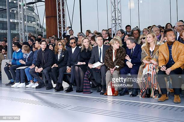 Model and actor Hu Bing Musician Tetsuya Komuro Chinese actor Dawei Tong Actor Jeremie Laheurte Marisa Berenson Formula One World Champion Lewis...