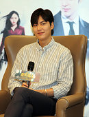 Model and actor Lee Min Ho promotes new movie 'Bounty Hunters' on June 23 2016 in Xi'an Shaanxi Province of China
