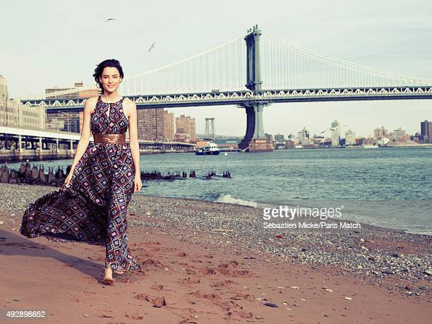Model and actor Loan Chabanol is photographed for Paris Match on November 8 2014 in New York City