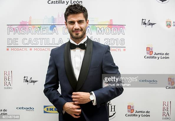 A model and actor Maxi Iglesias poses at the Paul Hewitt photocall during Castilla Y Leon Fashion Week 2016 at MEH November 8 2016 in Burgos Spain