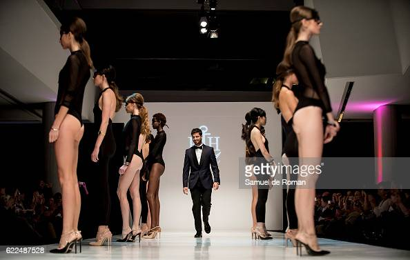 A model and actor Maxi Iglesias walks the runway at the Paul Hewitt show during Castilla Y Leon Fashion Week 2016 at MEH November 8 2016 in Burgos...