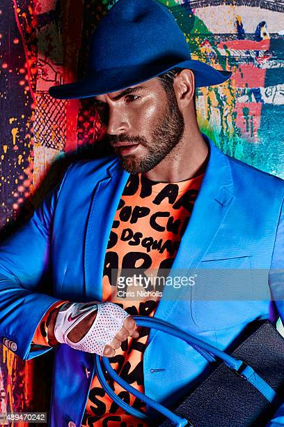 Model and actor Nick Bateman is photographed for Dress to Kill Magazine on April 1 2015 in Toronto Ontario