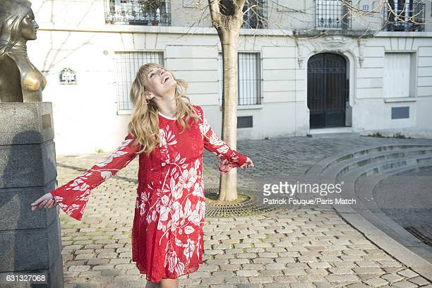 Model and actor Sveva Alviti is photographed for Paris Match on December 15 2016 in Paris France
