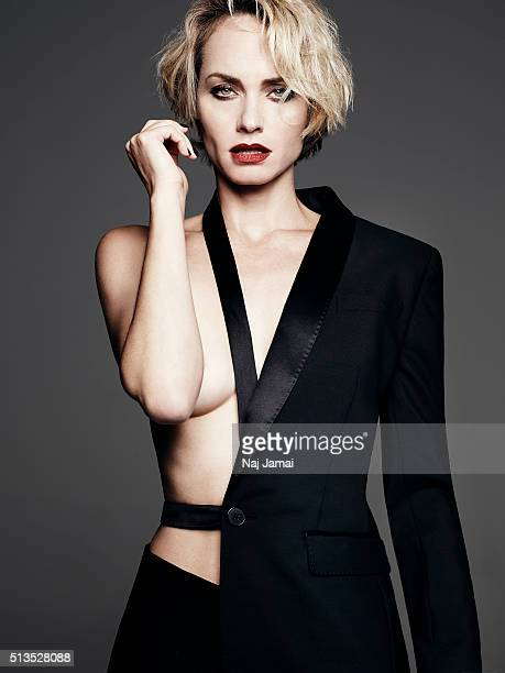 Model and actress Amber Valletta is photographed for Violet Grey Magazine on October 7 2015 in Los Angeles California PUBLISHED IMAGE