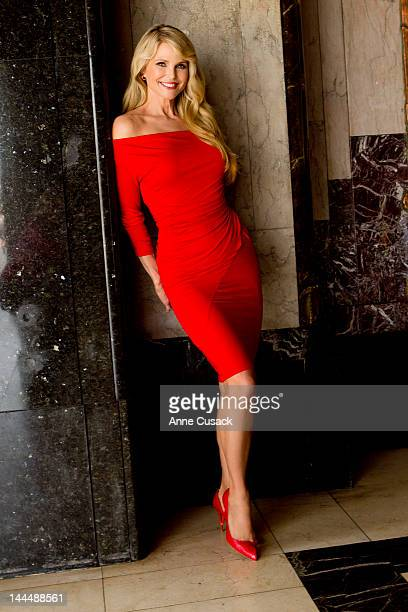 Model and Actress Christie Brinkley is photographed for Los Angeles Times on May 7 2012 in Los Angeles California PUBLISHED IMAGE CREDIT MUST READ...