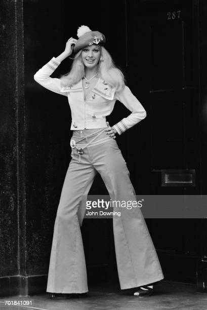 Model and actress Julie Crosthwaite UK 17th November 1971