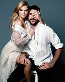 Kate Upton and Justin