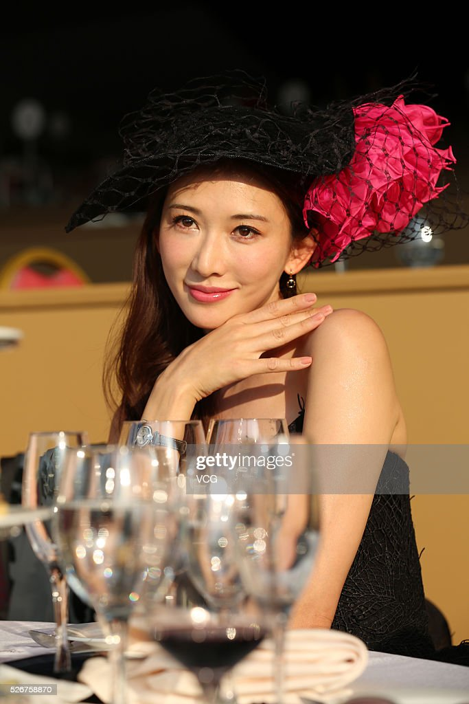 Model and actress Lin Chi-ling attends Longines Global Champions Tour (LGCT) on April 30, 2016 in Shanghai, China.