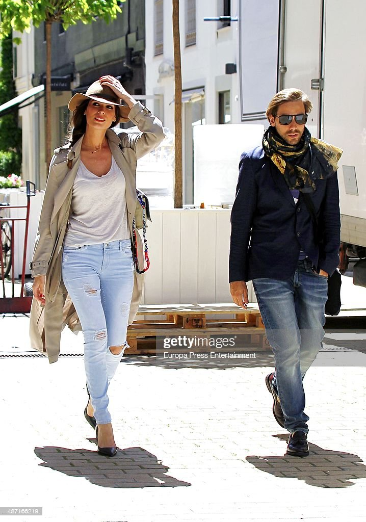 Celebrities Sighting In Madrid - April 25, 2014