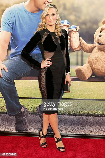 Model and actress Molly Sims attends the New York Premiere of 'Ted 2' at the Ziegfeld Theater on June 24 2015 in New York City