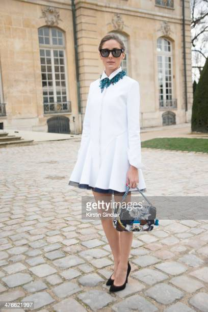 Model and Actress Olivia Palermo on day 4 of Paris Collections Women on February 28 2014 in Paris France