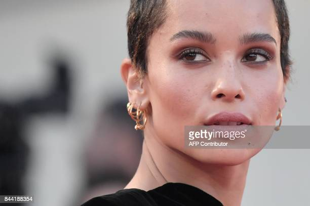 Model and actress Zoe Kravitz attends the premiere of the movie Racer And The Jailbird presented out of competition at the 74th Venice Film Festival...