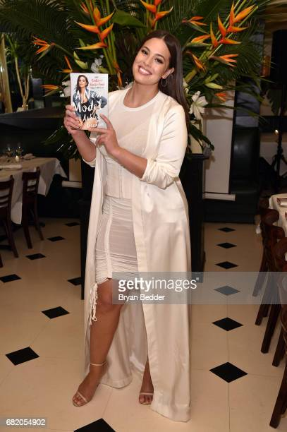 Model and author Ashley Graham attends the Lane Bryant and Ashley Graham celebrate the launch of her new book 'A New Model' at Indochine on May 11...