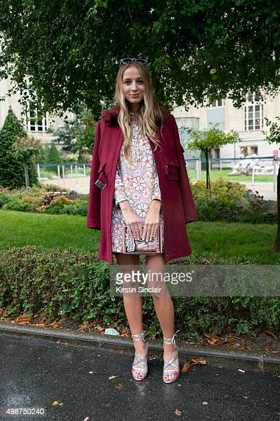 Model and DJ Harley Viera Newton on day 7 during Paris Fashion Week Spring/Summer 2016/17 on October 5 2015 in Paris France Harley Viera Newton