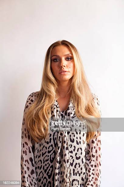 Model and fashion designer Petra Ecclestone is photographed for the Sunday Times magazine on March 4 2012 in London England