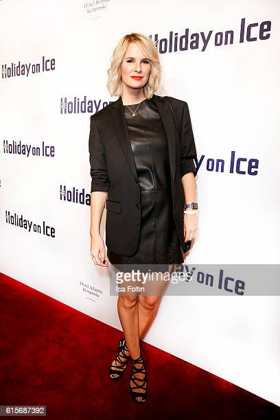 Model and german actress Monica Ivancan attends the 'Holiday on Ice' gala at Hotel Atlantic on October 19 2016 in Hamburg Germany