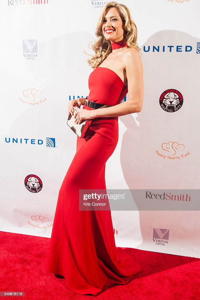 Model and host Petra Nemcova poses for photo during the 2016 Happy Hearts Fund Gala at Hammerstein Ballroom on June 16 2015 in New York City