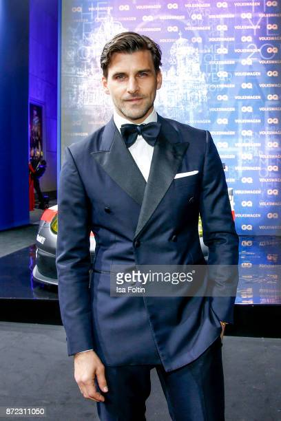 Model and influencer Johannes Huebl arrives for the GQ Men of the year Award 2017 at Komische Oper on November 9 2017 in Berlin Germany