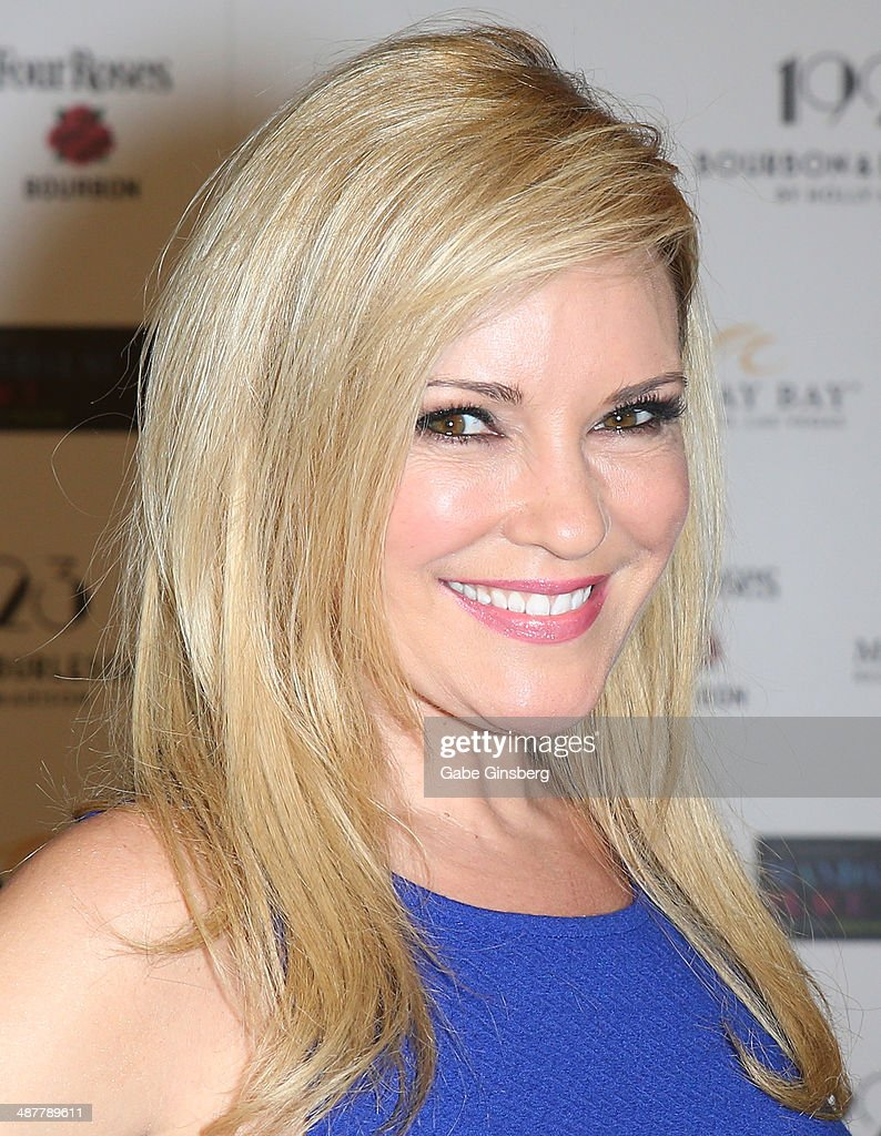 Model and television personality <a gi-track='captionPersonalityLinkClicked' href=/galleries/search?phrase=Bridget+Marquardt&family=editorial&specificpeople=539138 ng-click='$event.stopPropagation()'>Bridget Marquardt</a> attends the grand opening of 1923 Bourbon & Burlesque by Holly Madison at the Mandalay Bay Resort and Casino on May 1, 2014 in Las Vegas, Nevada.