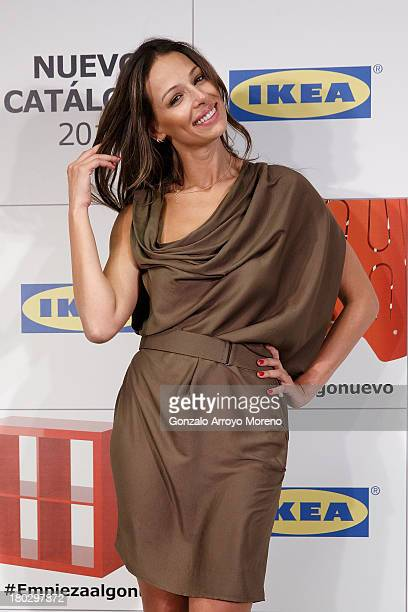 Model and TV anchorwoman Eva Gonzalez attends the Ikea Presentation at Ikea store on September 11 2013 in San Sebastian de los Reyes Madrid Spain
