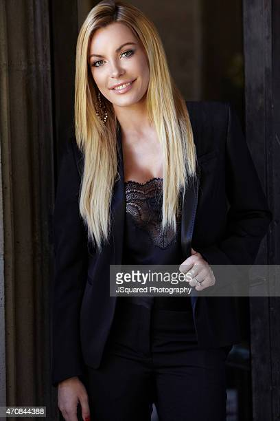 Model and TV personality Crystal Hefner is photographed for Self Assignment on September 26 2014 in Los Angeles California
