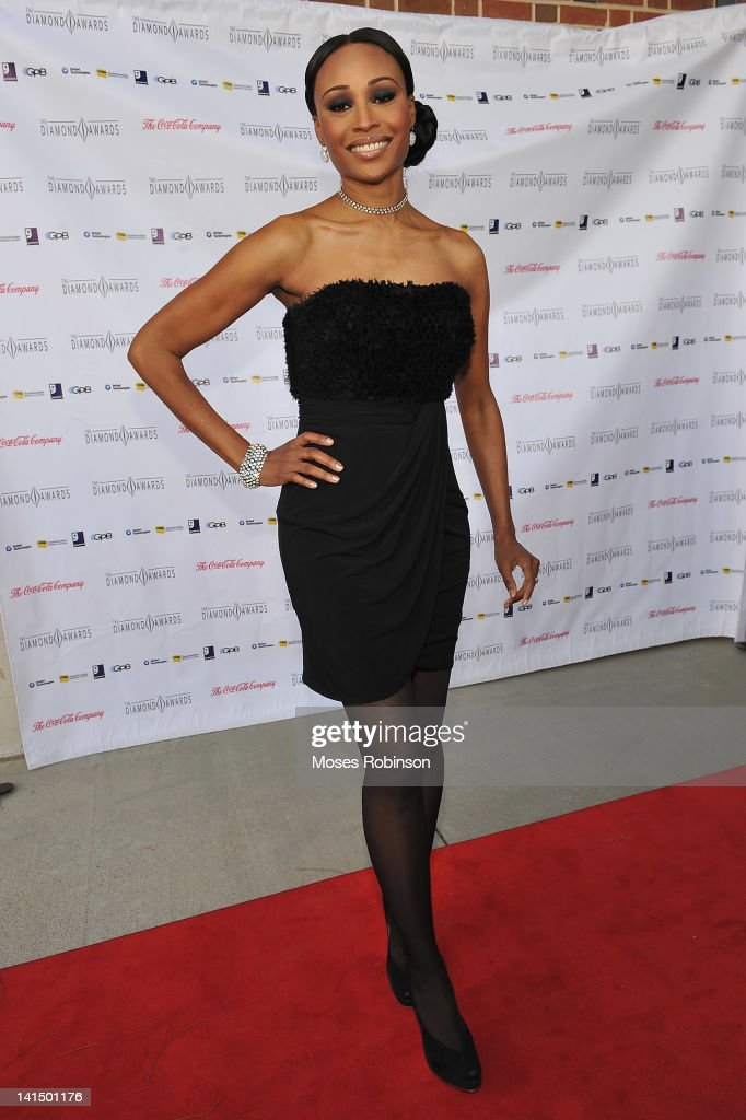 Model and TV personality Cynthia Bailey attends the Not Alone Foundation Second Biennial Diamond Awards at Morehouse College Ray Charles Performing Arts Center on March 17, 2012 in Atlanta, Georgia.