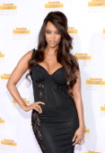 Model and Tv Personality Tyra Banks attends NBC and Time Inc celebrate the 50th anniversary of the Sports Illustrated Swimsuit Issue at Dolby Theatre...