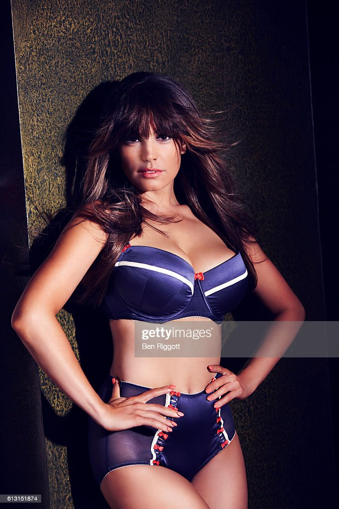 Model and tv presenter Kelly Brook is photographed for New Look on July 26, 2012 in London, England.