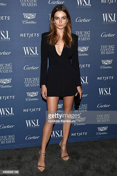 Model Andreea Diaconu attends the WSJ Magazine 2015 Innovator Awards at the Museum of Modern Art on November 4 2015 in New York City